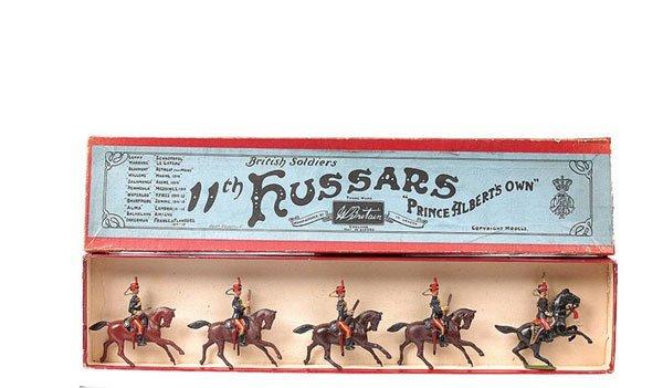 23: Britains-Set 12-11th Hussars-1903 version