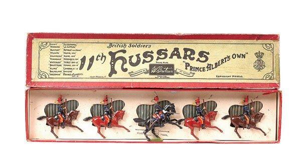 24: Britains-Set 12-11th Hussars-1923 version