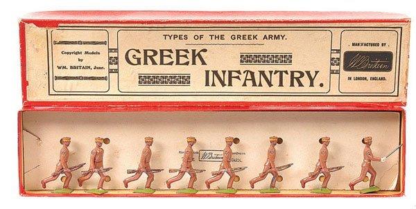 270: Britains - Set 171 - Greek Inf- 1928 version