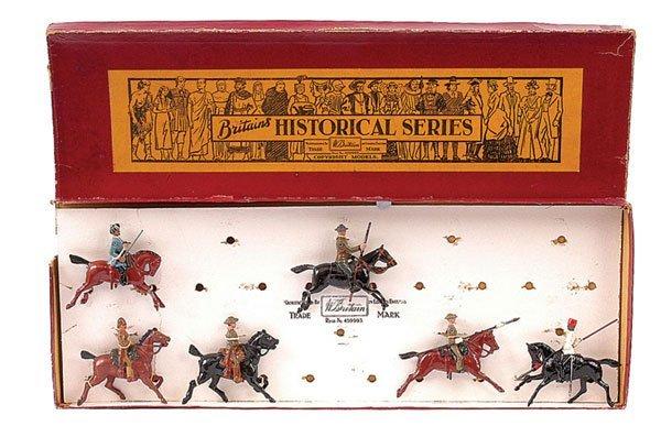 586: Britains-Set 1874-Hist Collectors Series-1940