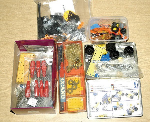 1014: Meccano - 1970s and 80s Boxed/Unboxed Sets