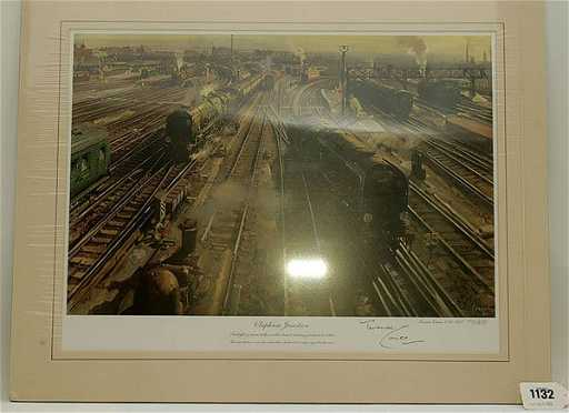 1132 terence cuneo clapham junction print reheart