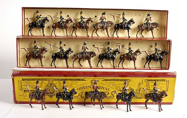2005: Britains - From Set 24 - 9th Lancers
