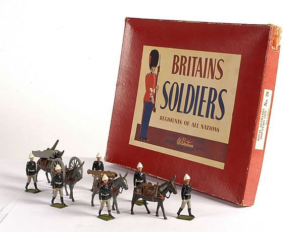 2006: Britains - From Set 28 - RA Mountain Gun