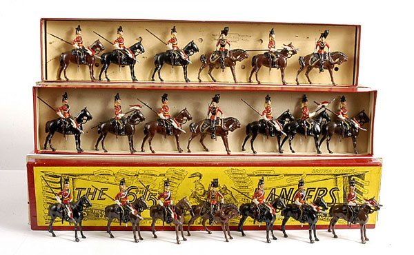 2008: Britains - From Set 33 - 16/5th Lancers