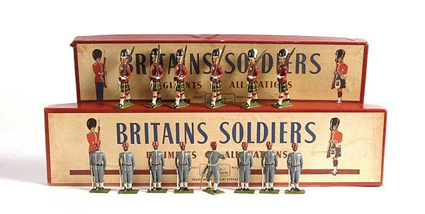 2016: Britains - From Set 77 - The Gordon Highlanders