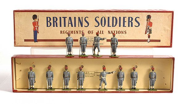 2017: Britains - From Set 117 - Egyptian Infantry