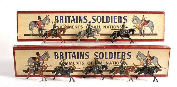 2018: Britains - From Set 136 - Mounted Cossacks