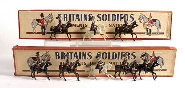 2019: Britains - From Set 138 -French Cuirassiers,
