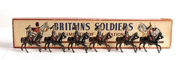 2020: Britains - From Set 138 - French  - Cuirassiers