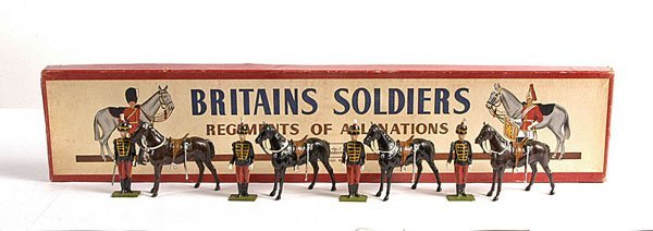 2023: Britains - From Set 182 - 11th Hussars