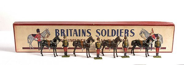 2024: Britains - From Set 182 - 11th Hussars