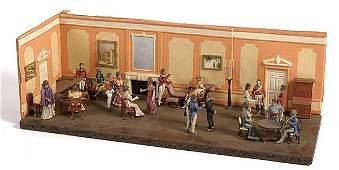 2274 Napoleonic Diorama  English Drawing Room1810