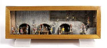 2275 Napoleonic Diorama  French Cuirassiers  1806