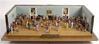 2276 Napoleonic Diorama  Eve of Waterloo