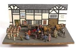 2295 Diorama  Town Square Circa 1820