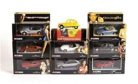 2529: Corgi - A Group of Recent Issue James Bond Cars