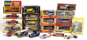 2732: A Mixed Group of Diecast Cars & Commercials