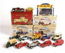 2891: A Mixed Group of Diecast Cars & Commercials