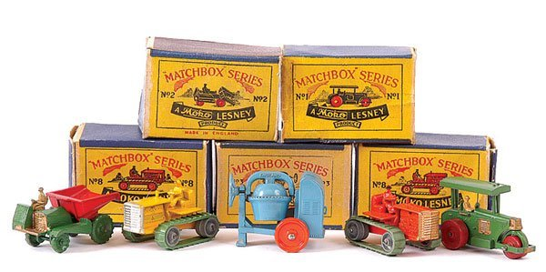 3001: Matchbox - A Group of Construction Vehicles