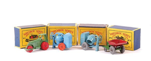 3002: Matchbox - A Group of Construction Vehicles