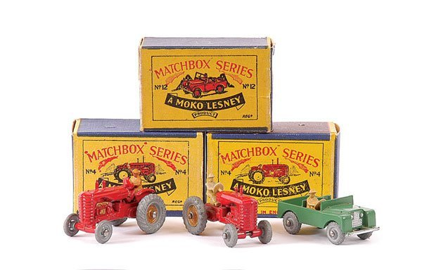 3005: Matchbox - A Group of Farm Vehicles