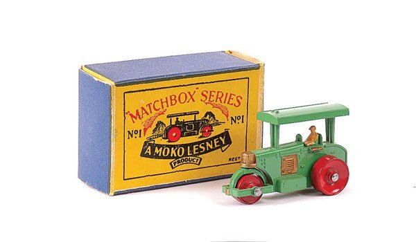 3007: Matchbox No.1a Aveling Barford Road Roller
