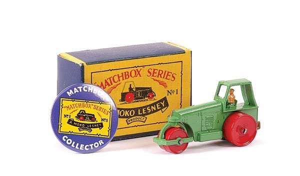 3010: Matchbox No.1b Aveling Barford Road Roller
