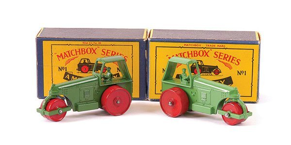3011: Matchbox No.1c Aveling Barford Road Rollers