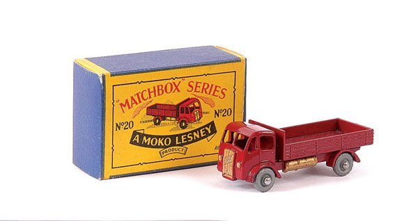 3013: Matchbox No.20a ERF Dropside Lorry
