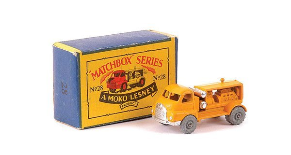 3014: Matchbox No.28a Bedford Compressor Truck