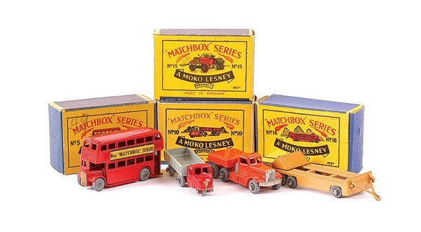 3015: Matchbox - A Group of Commercial Vehicles