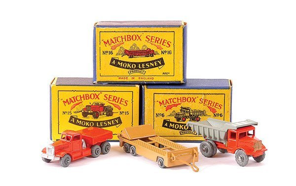 3020: Matchbox - A Group of Commercial Vehicles