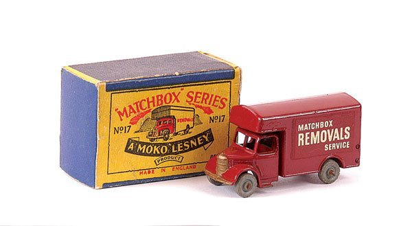 3021: Matchbox No.17a Bedford Removals Van