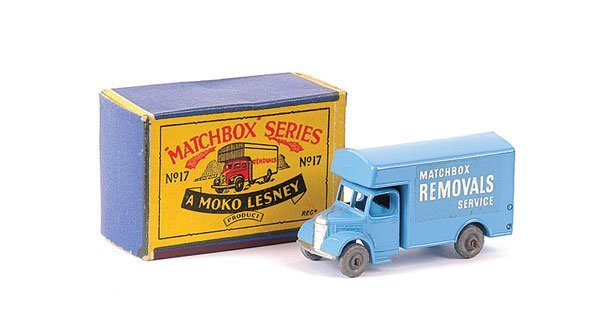 3022: Matchbox No.17a Bedford Removals Van