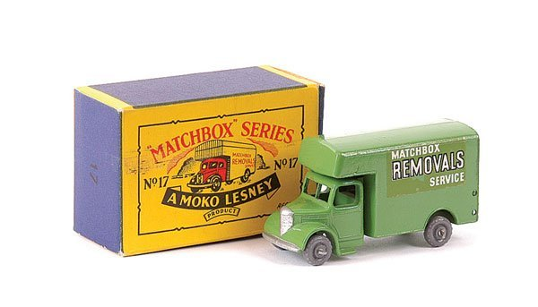 3023: Matchbox No.17b Bedford Removals Van