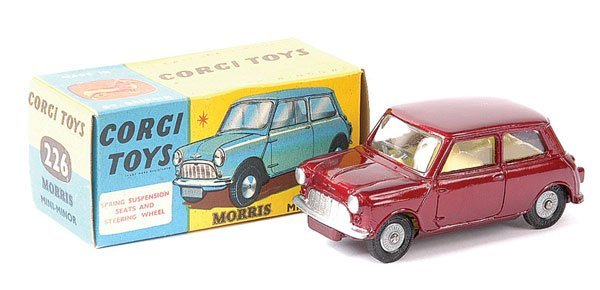 4001: Corgi No.226 Morris Mini Minor