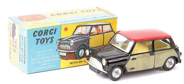 "4002: Corgi No.249 Mini Cooper ""Wickerwork"""