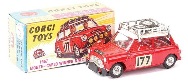 "4003: Corgi No.339 Mini Cooper S ""Rally Monte Carlo"""