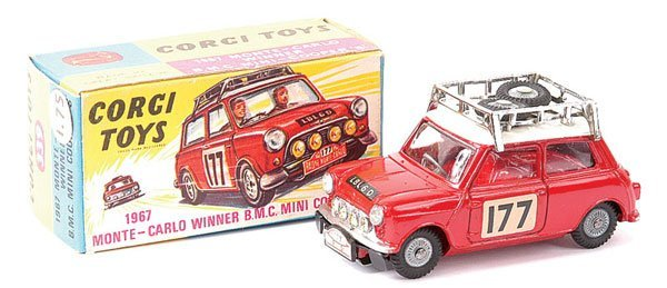 "4004: Corgi No.339 Mini Cooper S ""Rally Monte Carlo"""