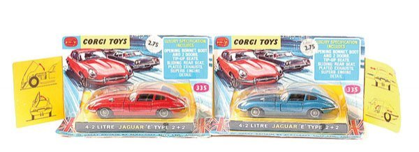 4008: Corgi No.335 Jaguar E-type 4.2 ltr