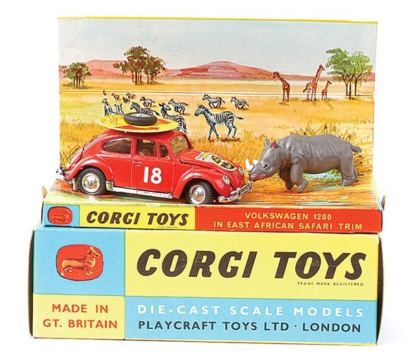 "4009: Corgi No.256 VW 1200 ""East African Safari"""