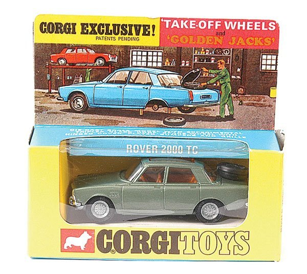 4010: Corgi No.275 Rover 2000TC