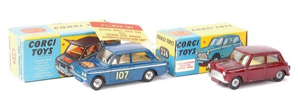 4014: Corgi No.328 Hillman Imp plus Others