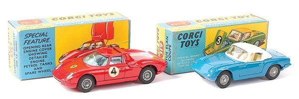 4015: Corgi No.319 Lotus Elan Coupe plus Others