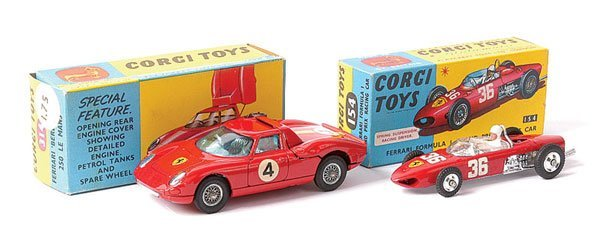 4018: Corgi No.314 Ferrari Berlinetta Le Mans & Others