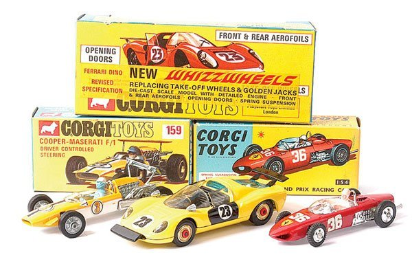 4020: Corgi No.154 Ferrari Formula 1 plus Others