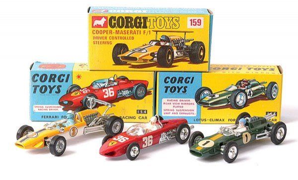 4021: Corgi No.154 Ferrari Formula 1 plus Others