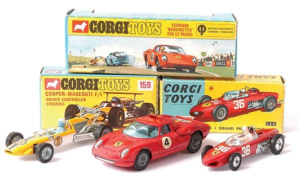 4022: Corgi No.154 Ferrari Formula 1 plus Others