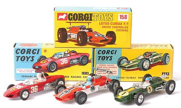 4023: Corgi No.154 Ferrari Formula 1 plus Others